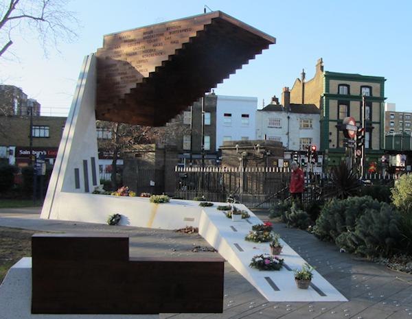 Image of the memorial